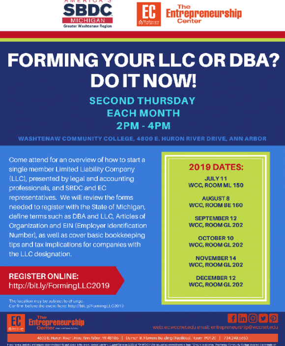 Forming your LLC or DBA? Do it now!